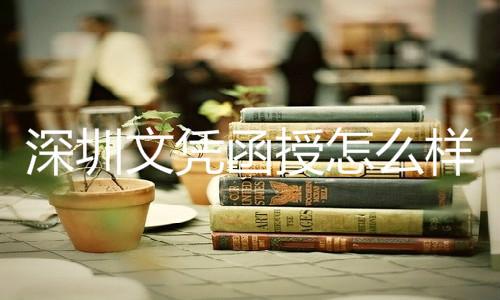 深圳文凭函授怎么样