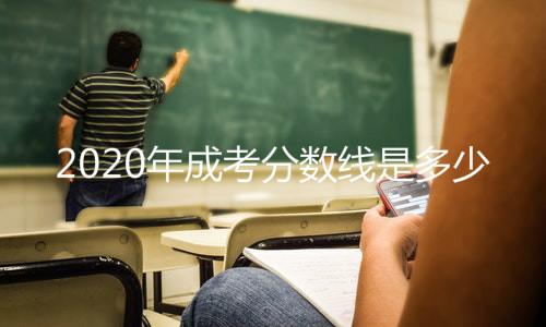 2020年成考分数线
