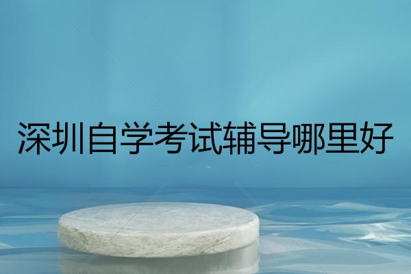 深圳自学考试辅导