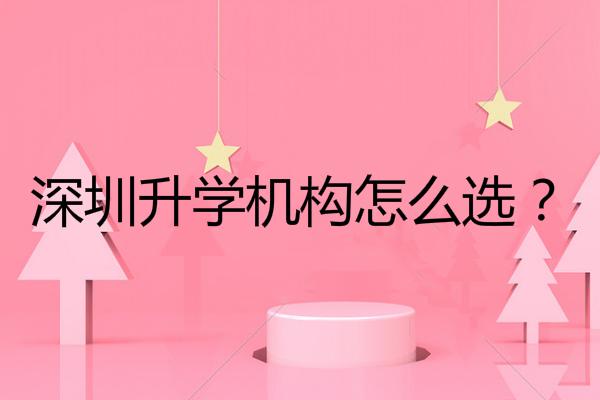 深圳升学机构