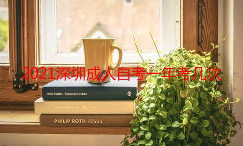 2021深圳成人自考一年考几次