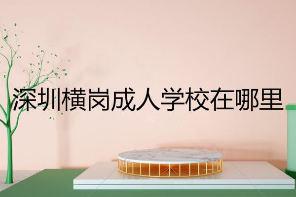 深圳横岗成人学校