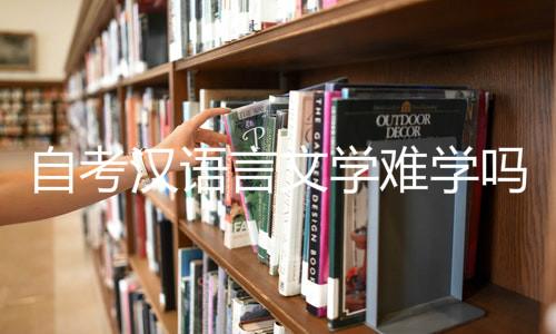 自考汉语言文学难学吗