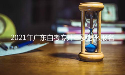 2021年广东自考专升本报名
