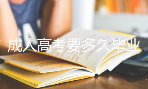 成人高考要多久毕业